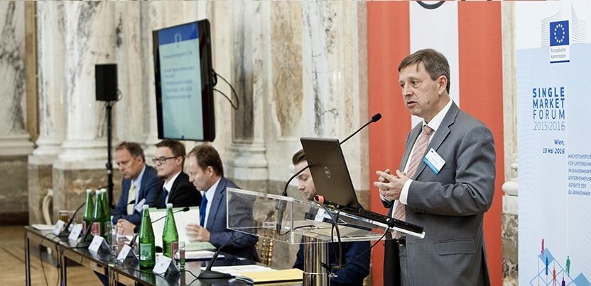 Warsztaty Komisji Europejskiej: Przyszłość istrategia Jednolitego Rynku Europejskiego