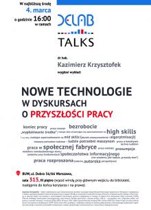 DELabTALKS-krzysztofek-nowe-technologie-w-dyskusjach-o-przyszlosci-pracy