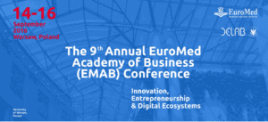 9th Annual EuroMed Conference: Innovation, Entrepreneurship and Digital Ecosystems