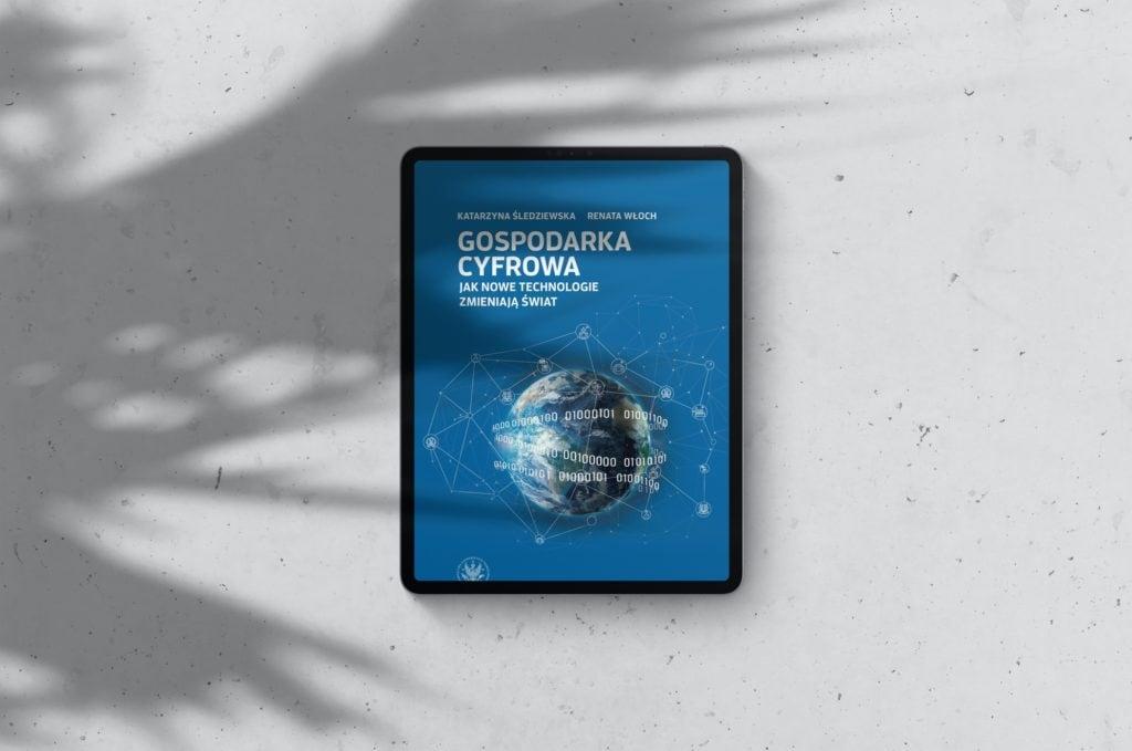 Okładka książki Gospodarka Cyfrowa