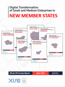 Digital Transformation of Small and Medium Enterprises – DELab Country Reports