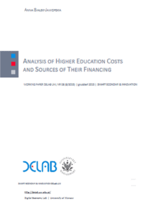 Analysis of higher education costs and sources of their financing