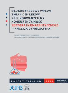 Długookresowy wpływ zmian cen leków refundowanych na konkurencyjność sektora farmaceutycznego — analiza symulacyjna