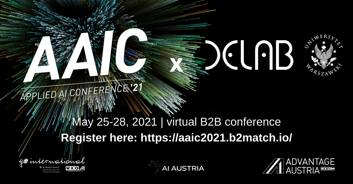Konferencja Applied AI – wirtualna konferencja B2B, 24–28 maja 2021r.