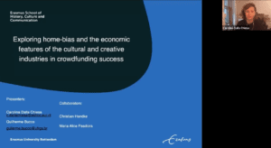 Exploring home-bias and the economic features of the cultural and creative industries in crowdfunding success