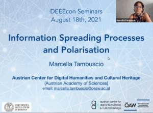 Information spreading processes and polarisation