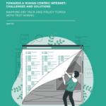 Towards ahuman-centric internet: challenges and solutions. Mapping key tech and policy topics with text-mining