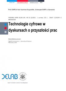 technologie cyfrowe w dyskursach